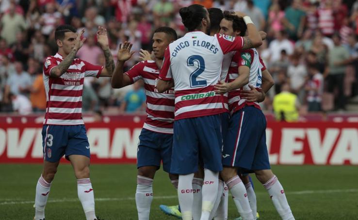 El mejor Granada de la temporada aparece tras el resbalón en Tarragona