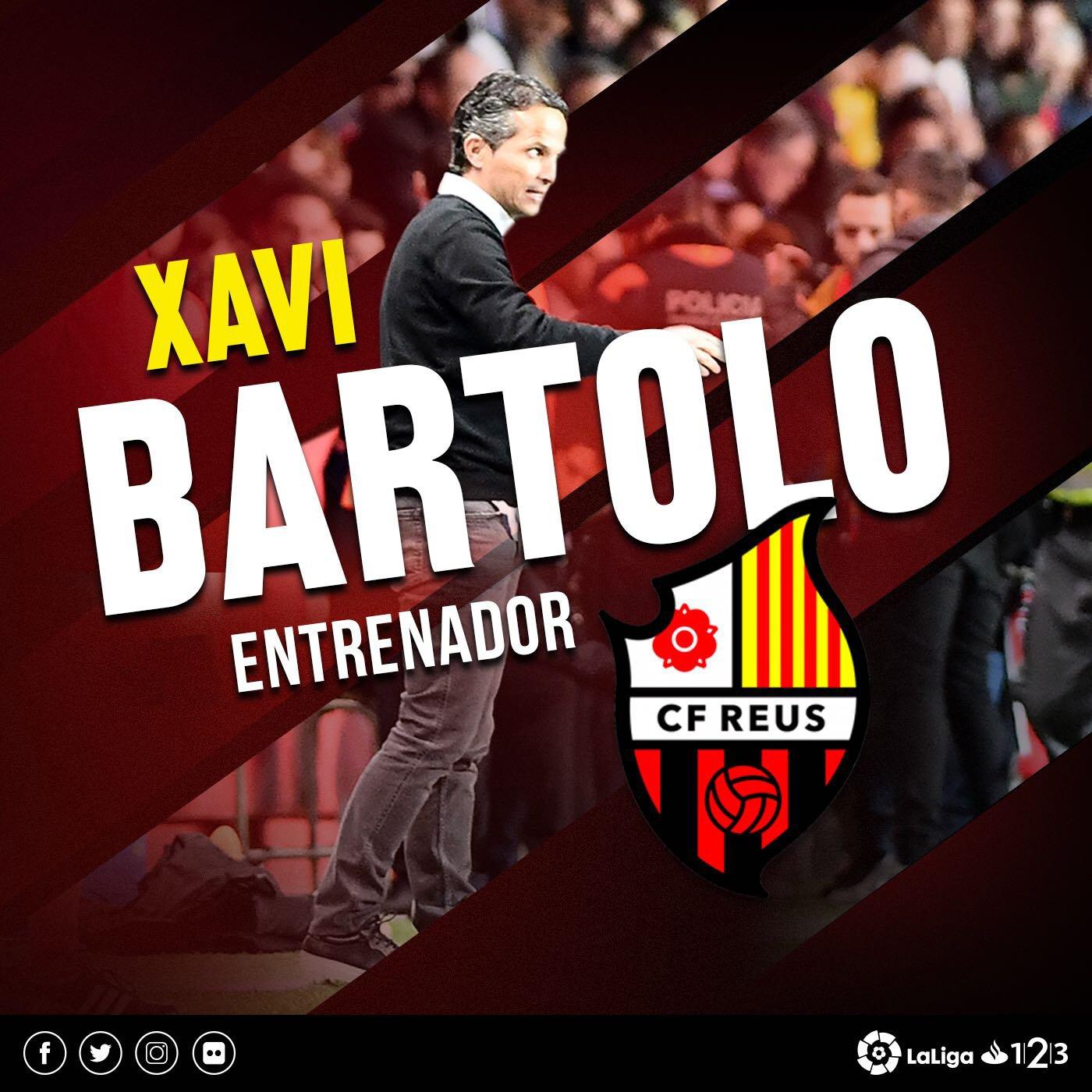 Xavi Bartolo entrenará al Reus
