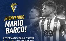 Mario Barco ficha por el Cádiz