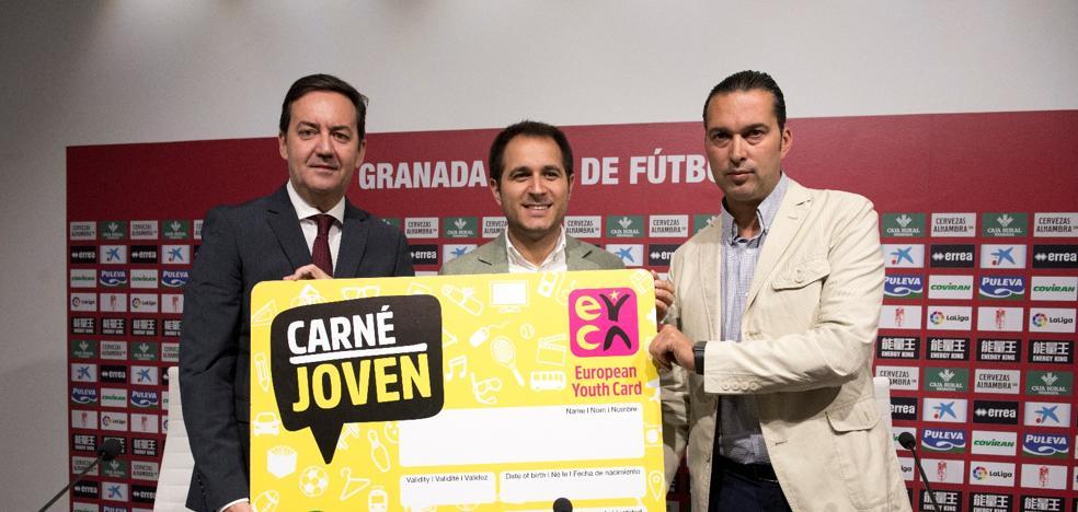 El Granada y el Fundación ofrecerán descuentos con el carné joven del IAJ
