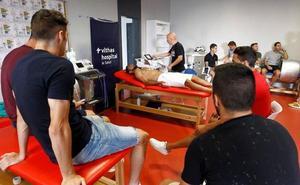 Los rojiblancos se someten al reconocimiento médico