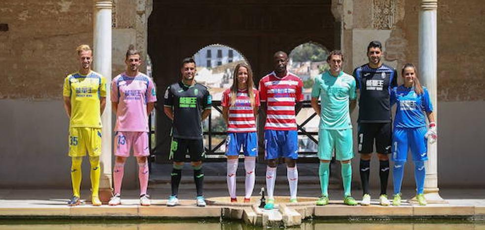 La nueva camiseta del Granada CF se presenta este martes