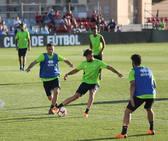 Así ha transcurrido el entrenamiento del Granada CF