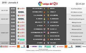 Ya se conoce el horario del Extremadura-Granada y del partido de Copa ante el Elche