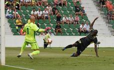 El partido entre Elche - Granada CF