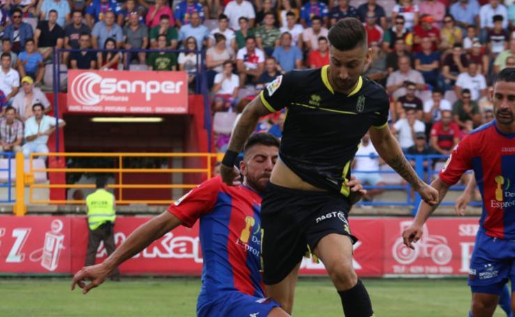 Las mejores jugadas entre el Extremadura - Granada CF