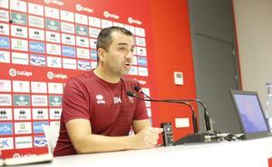 Diego Martínez: «Cada vez que defendamos este escudo, iremos al máximo para ganar»