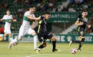 Derrota del Granada ante el Elche con un 2-1