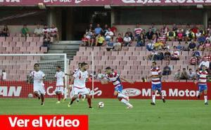 Todos los vídeos del Granada CF - Rayo Majadahonda: resumen, goles y las mejores jugadas