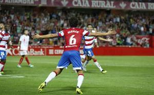 El Granada se lleva la victoria ante el Rayo Majadahonda