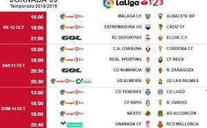 El Granada recibirá al Mallorca el domingo 14 de octubre y jugará el sábado 20 en Alcorcón