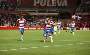 Puntuaciones de los jugadores del Granada-Mallorca