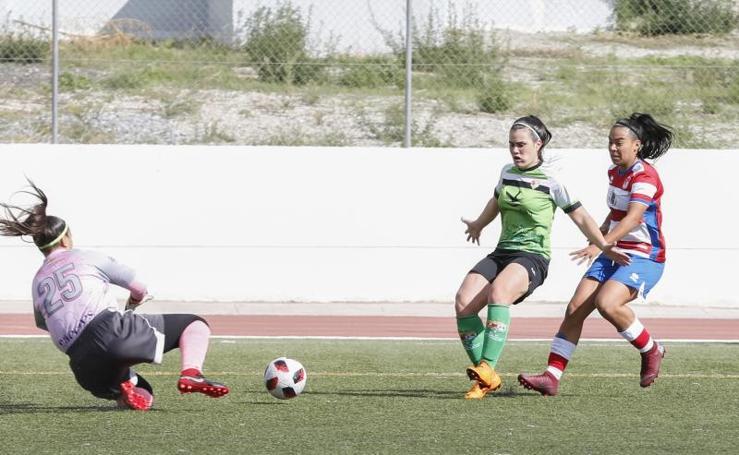 Las mejores imágenes de la victoria del Granada femenino ante el Cáceres