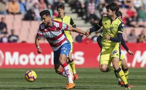 Empate en Los Cármenes con tres goles anulados al Granada