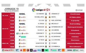 El Tenerife-Granada se jugará el viernes 21 de diciembre a las siete