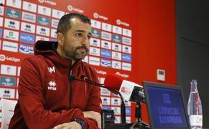 Diego Martínez: «Jugamos en un escenario y ante un equipo de Primera división»