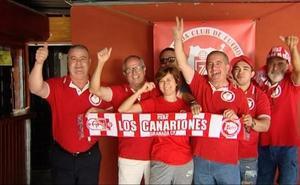 Corazones rojiblancos que sienten desde Gran Canaria