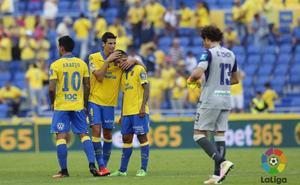 El Granada nunca dejó la puerta a cero visitando a Las Palmas
