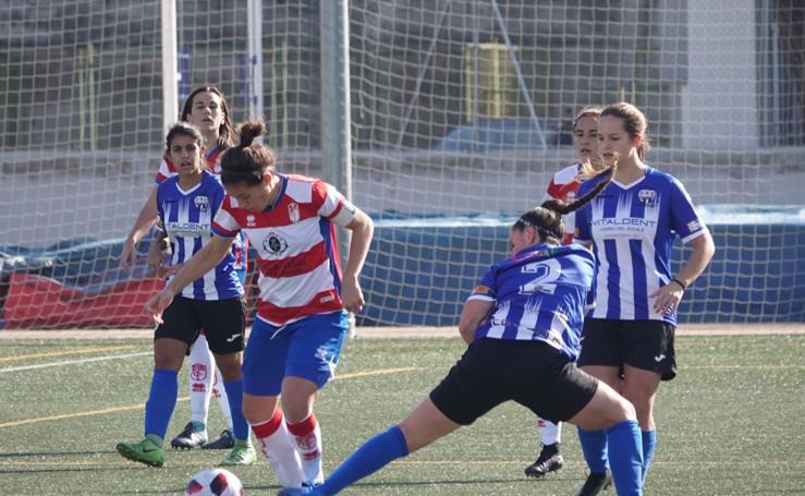 Las mejores fotos del Granada Femenino frente al Híspalis