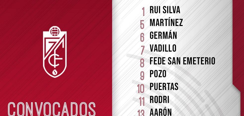 Diego repite la convocatoria definitiva de 18 ante el Oviedo
