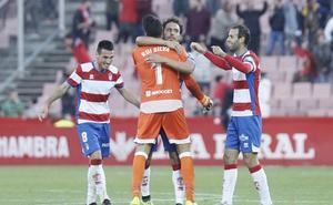 Adrián Ramos da la victoria al Granada