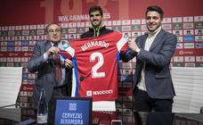 Así ha sido la presentación de Bernardo en el Granada CF