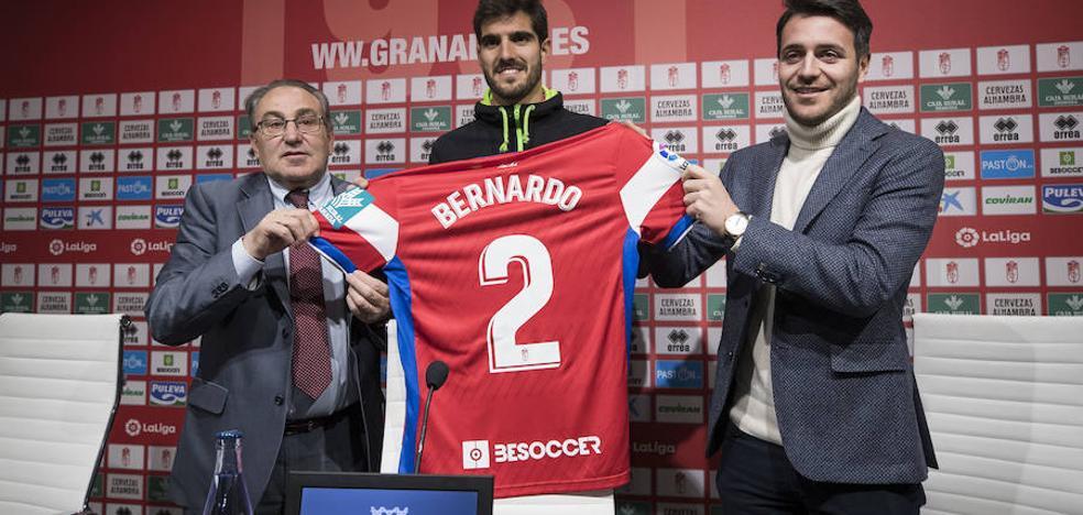 Bernardo: «Estar en el Granada es una oportunidad muy bonita que seguro que voy a aprovechar»