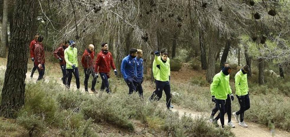 El Granada hizo senderismo por la Sierra de Huétor