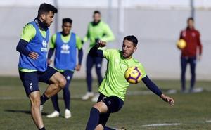 Entrenamiento repleto de opciones para Diego Martínez