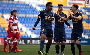 Contundente derrota en Murcia del Recreativo Granada