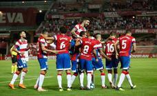 El gol es una cuestión coral en los equipos de Diego Martínez