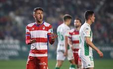 Así se le complicó al Granada el partido nada más empezar...