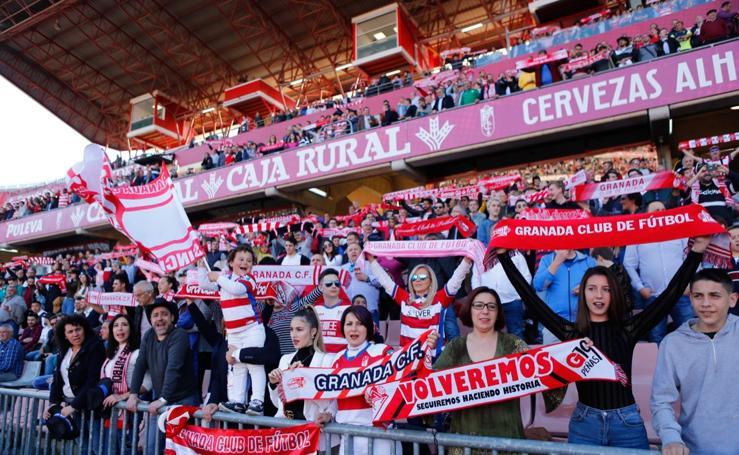 Encuéntrate en la grada del Granada CF - Zaragoza