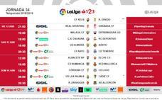 El Granada jugará en El Molinón el viernes 12 de abril