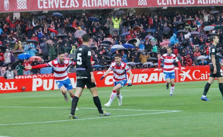 Todas las imágenes del Granada-Málaga