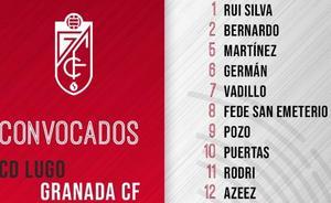El Granada CF convoca a 19 jugadores para el partido de Lugo