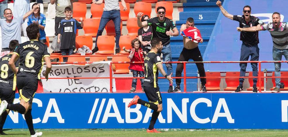 El Granada recupera su sonrisa en Lugo