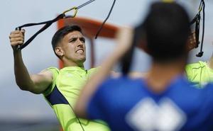 Martínez y Aguirre, únicos al margen en el primer entrenamiento de la semana