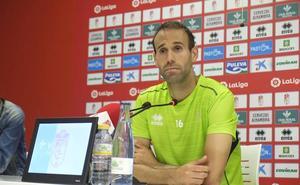 Víctor Díaz no niega la importancia del duelo ante el Albacete