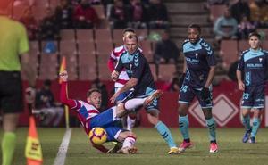 La voracidad anotadora de Zozulia y Bela ante un Granada en el que se reparte el gol