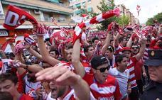 El Granada tendrá un recibimiento en el estadio como en las grandes ocasiones