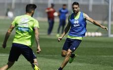 El Granada entrena en la ciudad deportiva y viajará el lunes a Mallorca