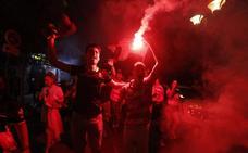Así vive la afición el partido que puede dar el ascenso al Granada a Primera