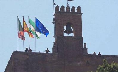 La Alhambra se suma a la celebración del ascenso del Granada CF
