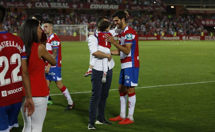 El emocionante final de liga del Granada CF en Los Cármenes