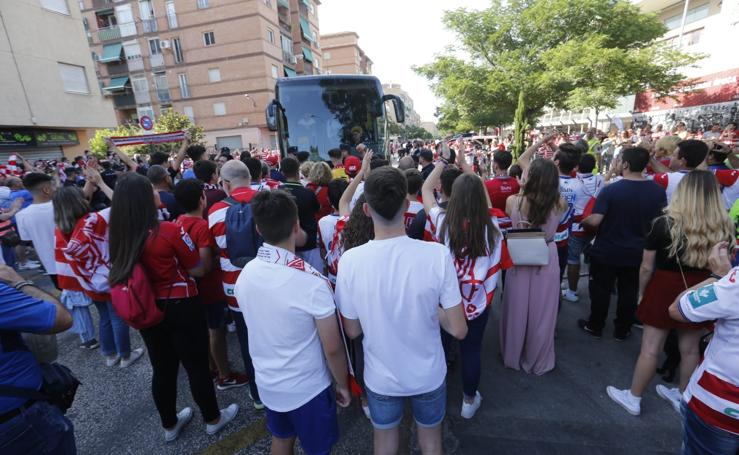 La afición del Granada CF también es de Primera