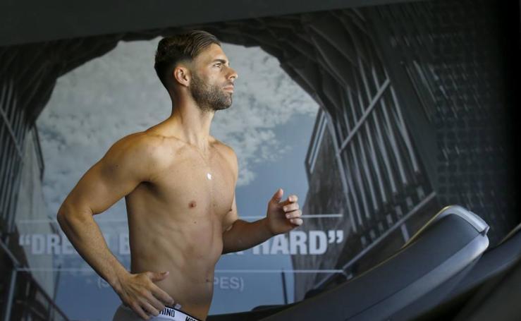 Los jugadores del Granada se enfrentan a las primeras pruebas médicas