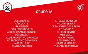 El Recreativo jugará en el Grupo IV sin el Melilla