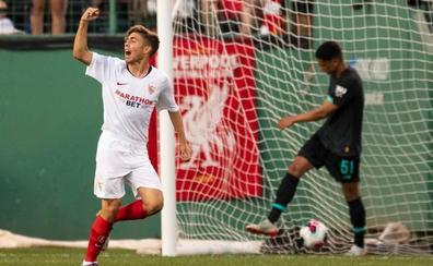 Monchi confirma a Alejandro Pozo como «un jugador más del equipo»