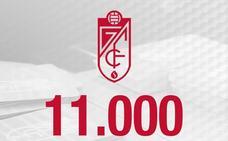 El Granada alcanza los 11.000 abonados